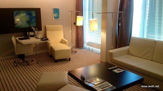 Radisson Blu Hotel Leipzig: Sessel