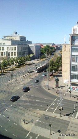 Radisson Blu Hotel Leipzig: Von Hotelflur aus gesehen