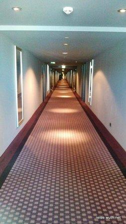 Radisson Blu Hotel Leipzig: Hotelflur