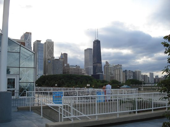 View from Navy Pier of Willis Tower