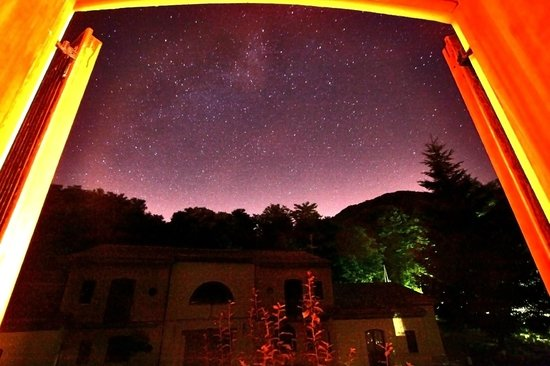 Borgo Villa Maria: Stelle dalla finestra della camera