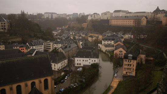 Sofitel Luxembourg Le Grand Ducal: Hotel and view