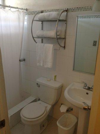 Villa Verde Inn: Baño limpio