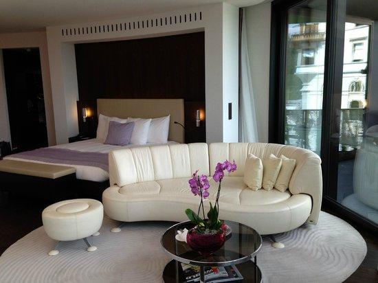 The Dolder Grand: Bedroom
