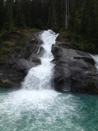 Waterfall, Tracy Arm Fjord