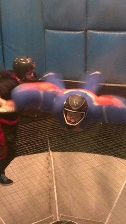 Vegas Indoor Skydiving : My daughter having a blast.