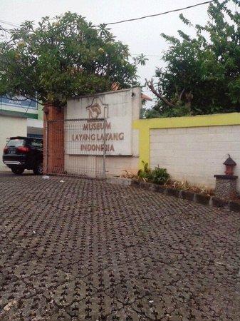 Kite Museum of Indonesia: gerbang masuk
