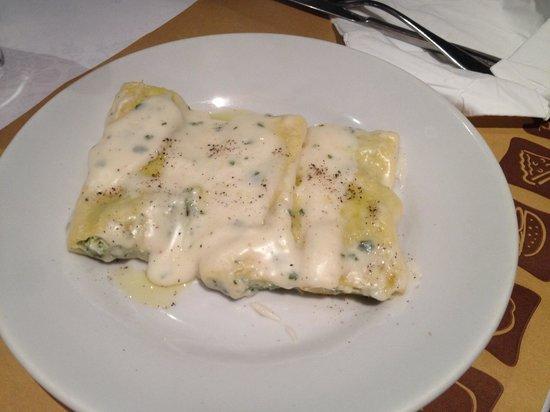 bar & food 62: Cannelloni ricotta e spinaci