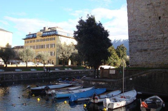 Grand Hotel Riva : Lage an der Rocca