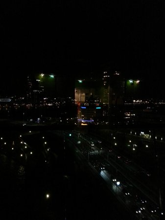 Inntel Hotels Rotterdam Centre: Vue du dernier étage