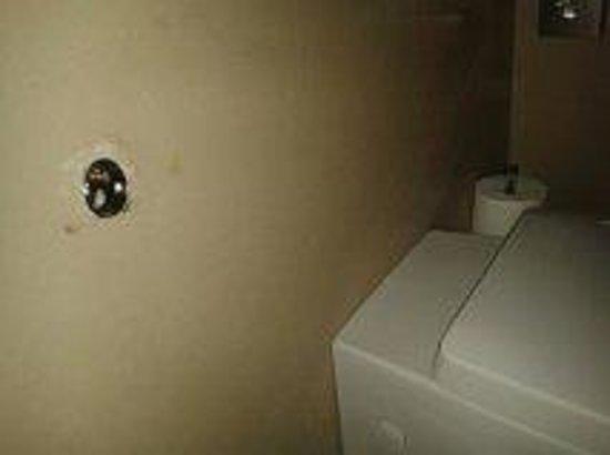 Aqualux Hotel Spa & Suite Bardolino: Il bagno in camera: portarotolo divelto