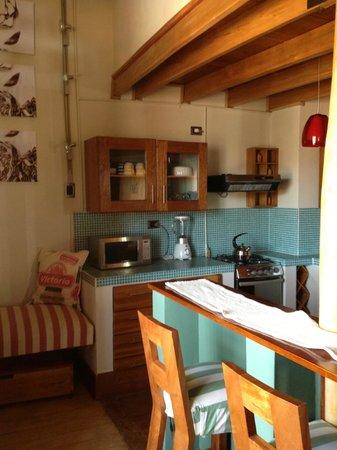 Quinua Villa Boutique : One of the rooms, kitchen area.  Perfect!