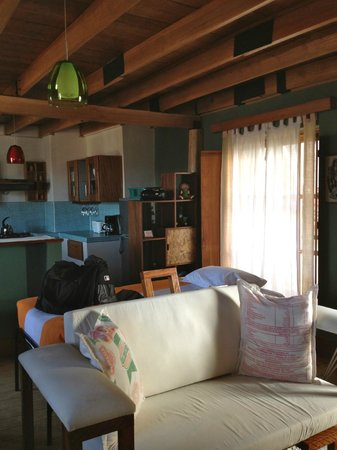 Quinua Villa Boutique : Half of kitchen and dining area