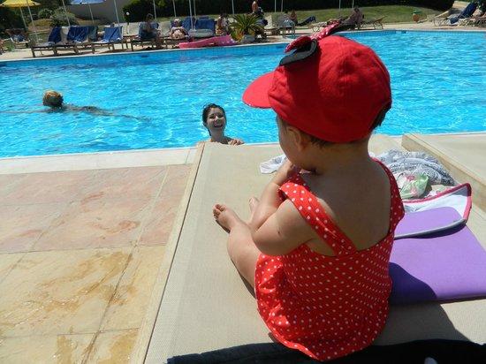 Smartline Vasia Village: Mya enjoying by the pool
