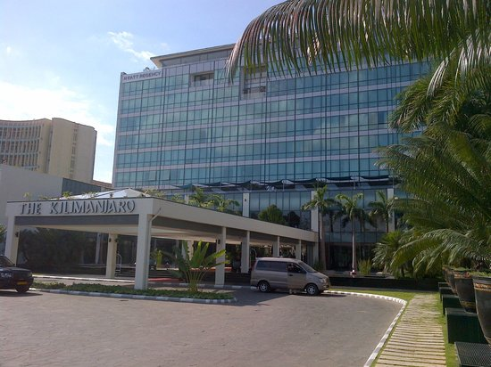 Hyatt Regency Dar es Salaam, The Kilimanjaro: Front Hotel View