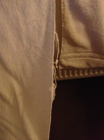 Roganstown Hotel and Country Club: Worn towels