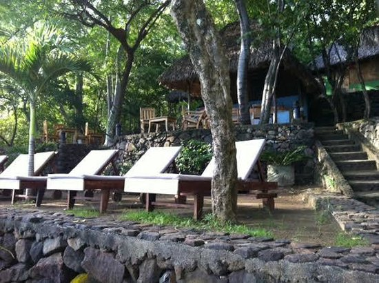San Simian Eco Lodge : Lounge Area