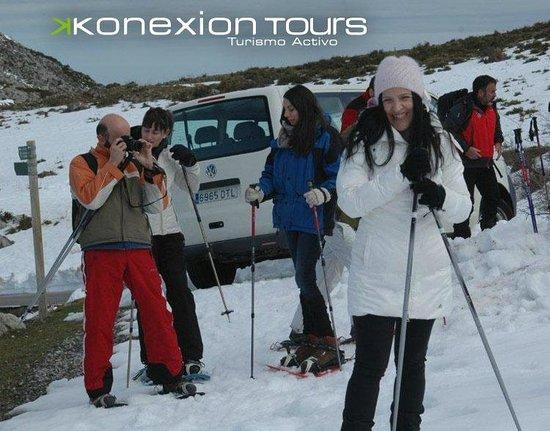 Konexion Tours - Cordoba: Konexion Tours Receptivo Asturias - Picos de Europa - Actividad: Raquetas de Nieve