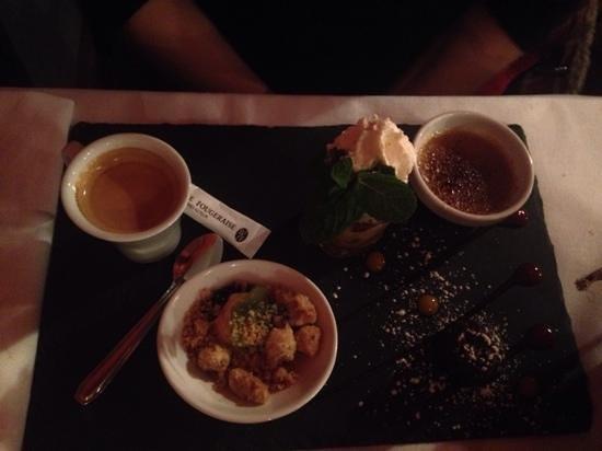 Restaurant l'Absinthe Cafe : Café gourmand +++
