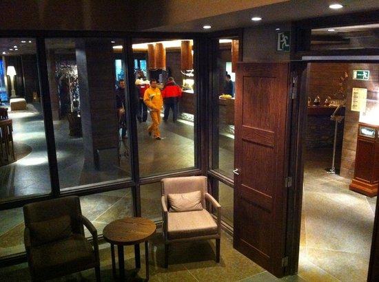 Hotel Val de Neu GL : L'entrée