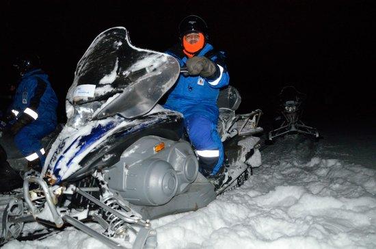 Spitzbergen Adventures: Snow mobile