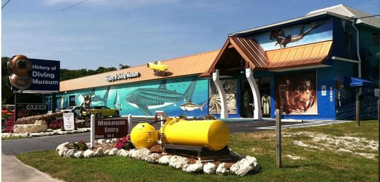 History of Diving Museum: New Museum Exterior