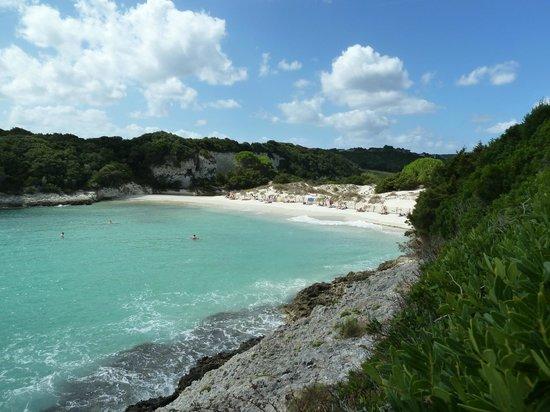 Magnifique vue plage paradisiaque picture of plage du petit sperone bonifacio tripadvisor - Image de plage paradisiaque ...