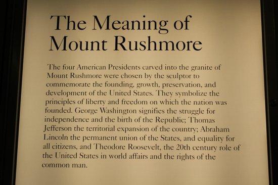 Mount Rushmore National Memorial: 6