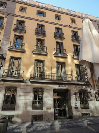 Radisson Blu Hotel, Madrid Prado: Отель