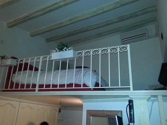 Camere a Sud: loft bedroom