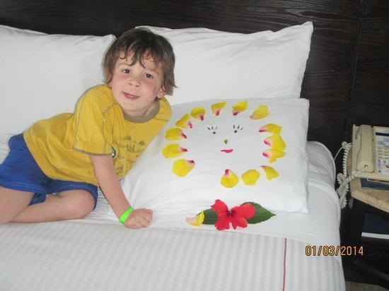Azul Ixtapa Beach Resort & Convention Center: Image laisse tous les jours pour la femme de ménage