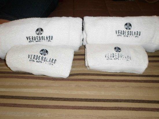 VerdeSolaro Suite Spa: Toallones