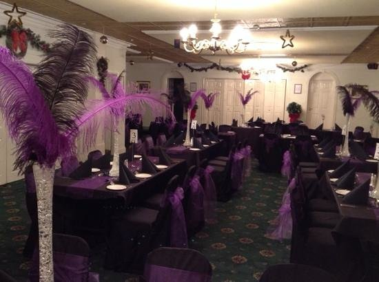 Park Head Country Hotel and Restaurant: New Years Eve in the Oakland Suite