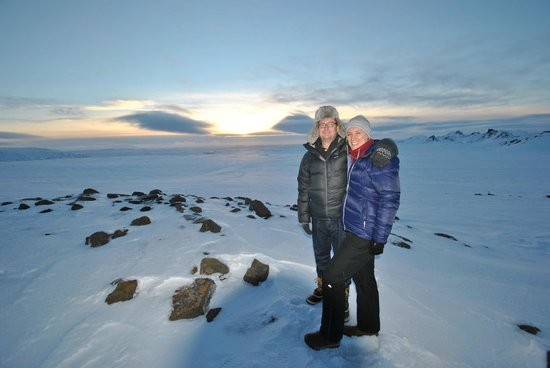 Discover Iceland: Top of the Glacier after the Gullfoss Falls