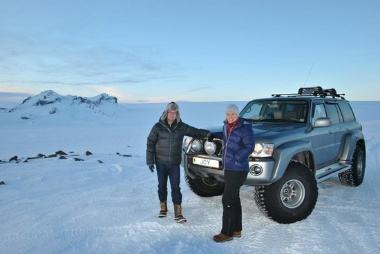 Discover Iceland: Our chariot for the day!