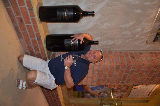 Ernie Els Wines: My size bottle!