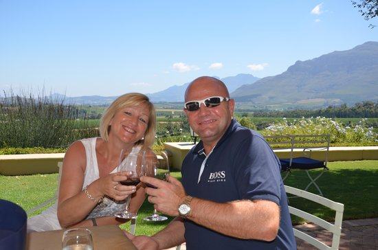 Ernie Els Wines: Delicious wines