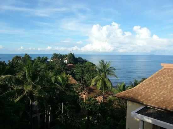 Crown Lanta Resort & Spa: Vue depuis le restaurant