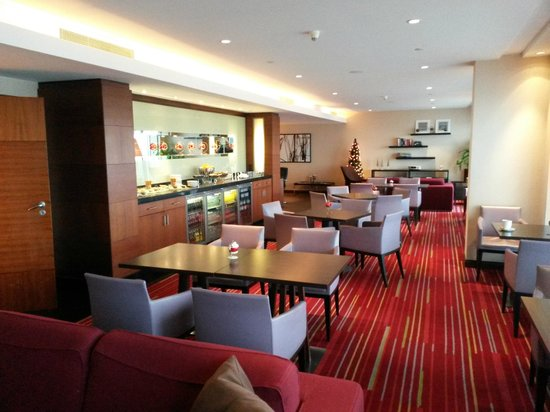 Hilton Warsaw Hotel & Convention Centre: Executive Lounge