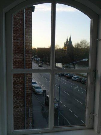 Hotel Anno 1216: Holstentor view