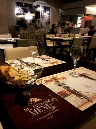Victoria Terme Hotel: Una cenetta romantica