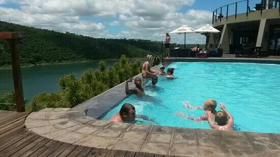 Jozini Tiger Lodge and Spa: tge view