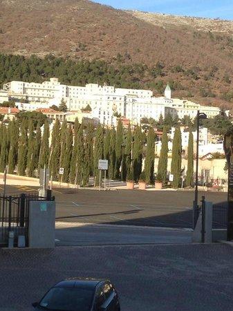 Hotel Gran Paradiso: vista panoramica dalla camera