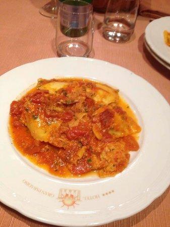 Hotel Gran Paradiso: i piatti della cucina