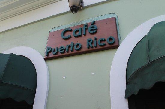 Cafe Puerto Rico: exterior