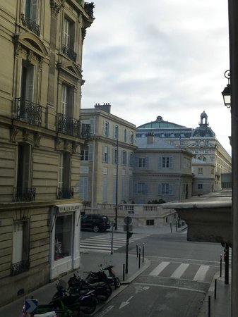 Hôtel d'Orsay : Classic room 14- View from room..D'Orsay!