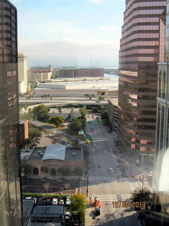 Hilton Tampa Downtown : Stunning view from Room 1737