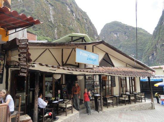 Incontri del pueblo Viejo: Front of Restaurant