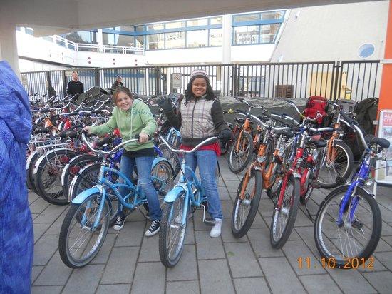 Fat Tire Tours Berlin: the kiddos