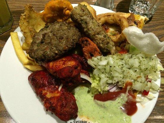 Aneesa's Buffet Restaurant: ANEESA'S BUFFET NEWCASTLE QUAYSIDE - 5*